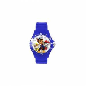 Taport Quartz Watch Blue Silicone for PAW Patrol Fans