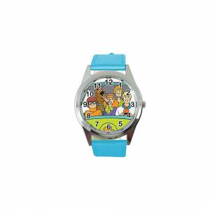 Taport Scooby DOO Blue Leather Band Quartz Watch