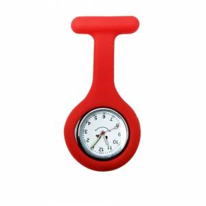 General Health Silicone Rubber Soft Nurse Fob Watch - Brooch Pin Doctor Medical