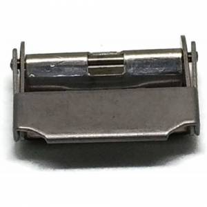 Watch and Clock Parts Ltd (18mm) Watch Bracelet Clasps Sliding Clamp Style Stainless Steel Size 7mm to 18m