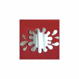 Super Cool Creations Splash Puddle + 6 Splash Mirrors - 12cm x 11cm