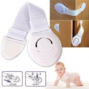 Locks and Latches 10X Baby Safety Cupboard Door Drawer Lock Clip Kid Child Proof Locks