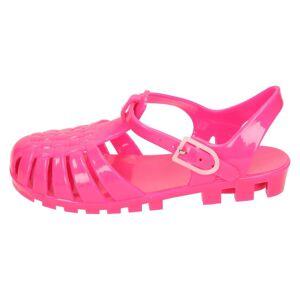 Spot On (UK 7 Infant, Fuchsia (Pink)) Girls Spot On Closed Toe Jelly Sandals