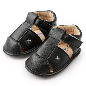 Slowmoose (C/7-12 Months) Summer Shoes Baby Boys, Sandals Soft Leather, Bebe Prewalker Sol