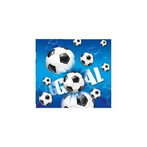 Procos tablecloth Voetbal junior 120 x 180 cm blue/white