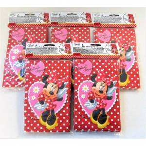 Disney Pack 30 Disney Minnie Mouse Paper Party Bags With a Sticker Seal - Favour bag