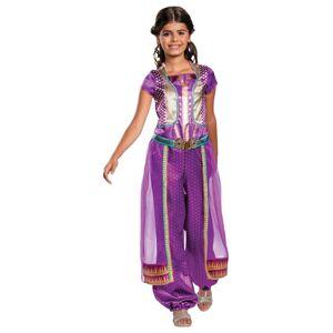 Disney (S (4-6)) Girls Jasmine Costume purple - Aladdin