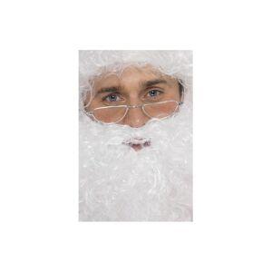 Unbranded Silver Santa Half Moon Specs. - Fancy Dress Specs Glasses Christmas Costume -  s