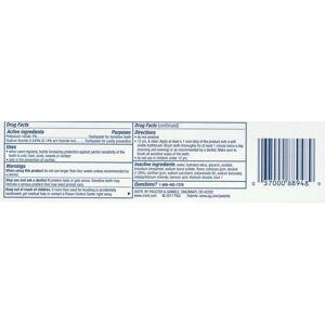 Crest Sensitivity Whitening Plus Scope Toothpaste, 116 g (4.1 oz) Minty Fresh