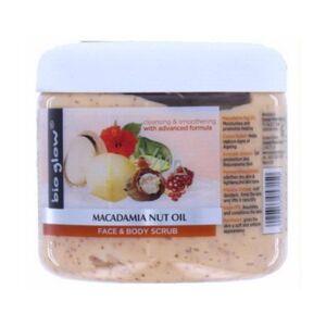 Bio Glow Macadamia Nut Oil Face and Body Scrub 300ml