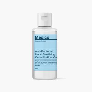 Medico (1 Bottle) Medico Anti-Bacterial Hand Sanitiser Gel - 50ml
