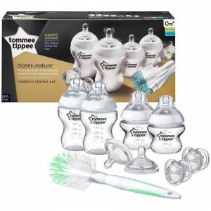 Tommee Tippee Closer to Nature Bottle Starter Set 0m+