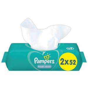 Pampers Fresh Clean Baby Scent Wipes