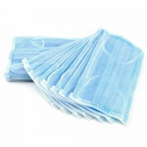 Unbranded DISPOSABLE-SURGICAL FACE MASKS-EAR LOOP & NOSE PIECE, COMFORTABLE FIT
