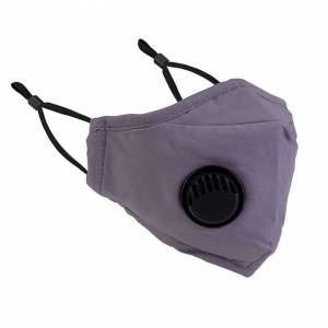 Trimming Shop 1 Pc Grey Washable Reusable Breathable Bandana Cotton Fabric Face