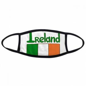 DIY THINKER Ireland National Flag Green Pattern Mouth Face Anti-dust Mask Anti Cold Warm Was
