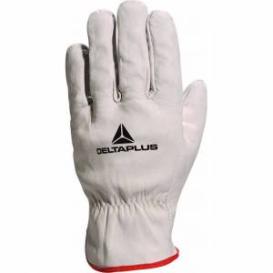 Delta Plus (Large - Size 9) Delta Plus Venitex FBN49 Grey Full Grain Leather Top Quality Sa