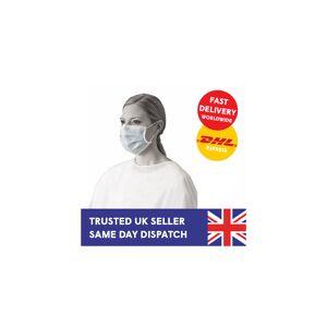Medico (1 Masks) Disposable Surgical Face Masks for Dentists, Surgeries, Vets, Nail Sal