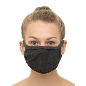 The Turkish Emporium (Charcoal) 5pk The Turkish Emporium Reusable Cotton Face Masks