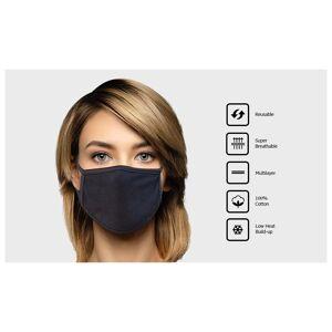 Unbranded Reusable Multilayer Cotton Mask - 1 Pack