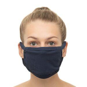 The Turkish Emporium (Navy) 5pk The Turkish Emporium Reusable Cotton Face Masks