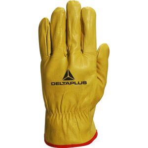Delta Plus (X-Large - Size 10) Delta Plus Venitex FBJA49 Yellow Full Grain Leather Quality