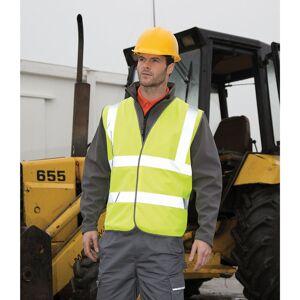 Result (2XL/3XL, Fluorescent Yellow) Result Mens Core Safety Hi Viz Vest