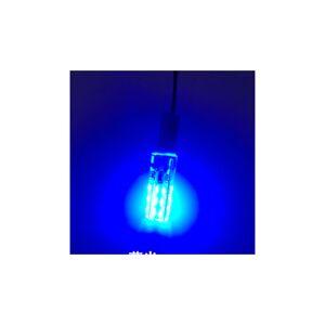 Slowmoose (Blue, G4) 12v 24smd Silica gel led colourful