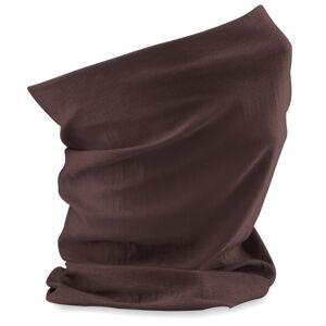 Beechfield (Chocolate Brown) Beechfield 3 in 1 Snood Face Cover Morf Original Neck Mask War