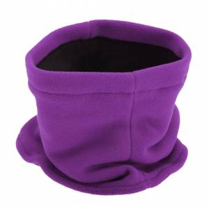 Floso (One Size, Purple) FLOSO Childrens/Kids Fleece Winter Neckwarmer / Snood