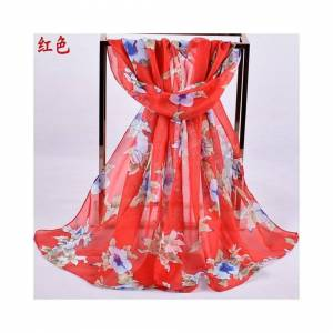 Simply My Love 160 50cm Flower Floral Fashion Ladies Scarves Chiffon Scarf Womens Shawls X413 R