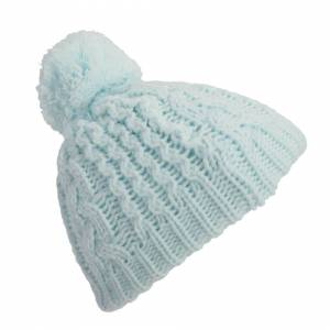 Universal Textiles (One Size, Blue) Baby Boys/Girls Cable Knit Winter Beanie Hat With Pom Pom