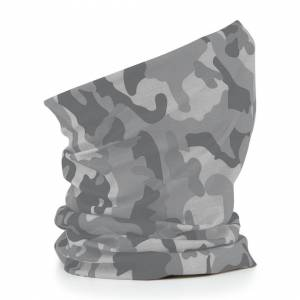 Beechfield (Arctic Camo) Beechfield 3 in 1 Snood Face Cover Morf Original Neck Mask Warm Br