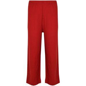 a2zkids (2-3 Years) Kids Girls Boys Pyjamas Designer Plain Red Contrast Sleeve Nightwear