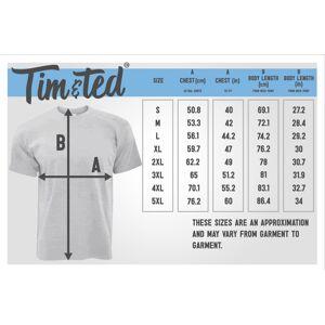 Tim And Ted (XXL, Black) Novelty T Shirt I Am Silently Correcting Your Grammar Pedant Joke