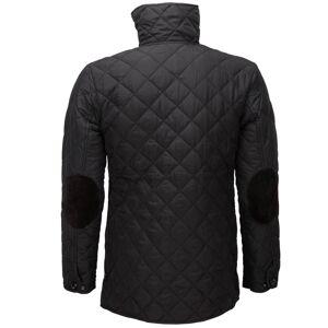 Soul Star (Small, Black) Soul Star Men's Diamond Pattern Padded Winter Coat