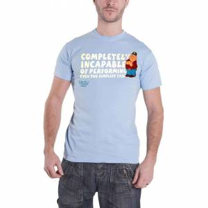 Family Guy Official Family Guy T Shirt Peter Griffin Completely Incapable new Mens Blue