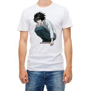 RED&WHITE CO. (L) L Death Note  Men's Short sleeve T-shirt