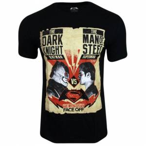 Superman (L) Mens Batman Vs Superman T-Shirt