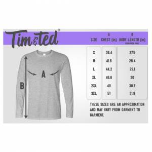 Tim And Ted (XL, Black) Novelty Long Sleeve Tried To Retire Now I Work For My Wife Joke Reti