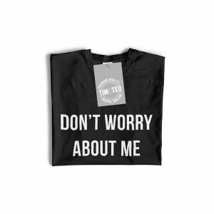 Tim And Ted (S, Dark Grey) Novelty Sassy Long Sleeve Worry About Your Eyebrows Joke Don't Wo
