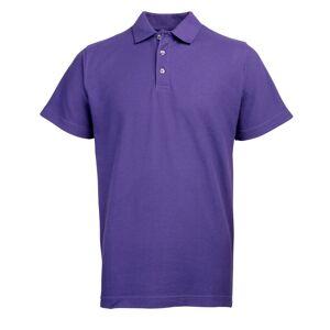 RTY Workwear (5XL, Purple) RTY Workwear Mens Pique Knit Heavyweight Polo Shirt (S-10XL) / Ext