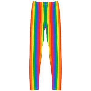 a2zkids (9-10 Years) Kids Girls Legging Trendy Rainbow Fashion Party Dance Leggings New
