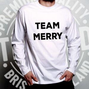 Tim And Ted (L, Dark Grey) Novelty Xmas Long Sleeve Team Merry Christmas Festive Season Wint