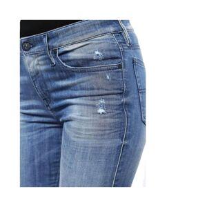 Diesel (W30 L32) DIESEL SKINZEE 0679W Womens Denim Jeans Super Skinny Fit Blue Faded Zi