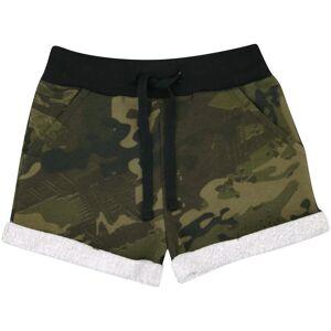 a2zkids (13 Years) Kids Girls Shorts Fleece Camouflage Green Summer Hot Short Dance Gym