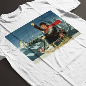 TV Times (Medium) TV Times Singer Cliff Richard On A Sledge Christmas 1990 Women's T-Shir