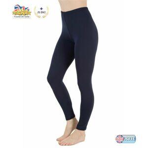 JS One (Navy Blue, XL / UK Size 14-16) Ladies Plain Stretchy Viscose Full Length Leggin