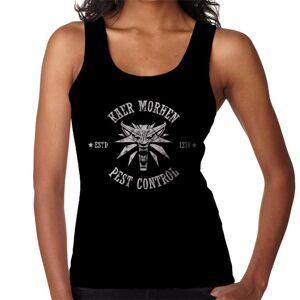Cloud City 7 (Small, Black) Kaer Morhen Pest Control White The Witcher 3 Women's Vest