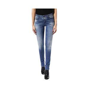 Diesel (W28 L30) DIESEL SKINZEE 0679W Womens Denim Jeans Super Skinny Fit Blue Faded Zi